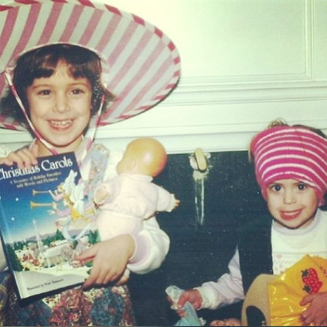 happy, happy, happy birthday to my first and forever bff, @bridgeteastep! 👯🎉💞🎈 love you more than wearing mom's tube tops on my head! 🥳