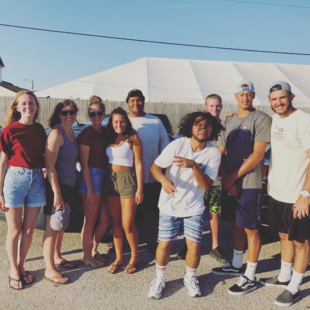 Great weekend for a senior beach trip! 🤙🏻🏖🌤 Love all of you. Sorry for those that couldn't make it.  #muchlove #grassrootsyouthmovement #oceancitynj