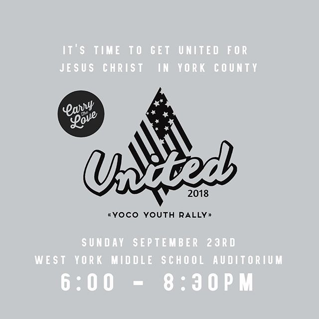 Don't miss this guys. Can't wait to see you there!  #yocounited #grassrootsyouthmovement #letsgo