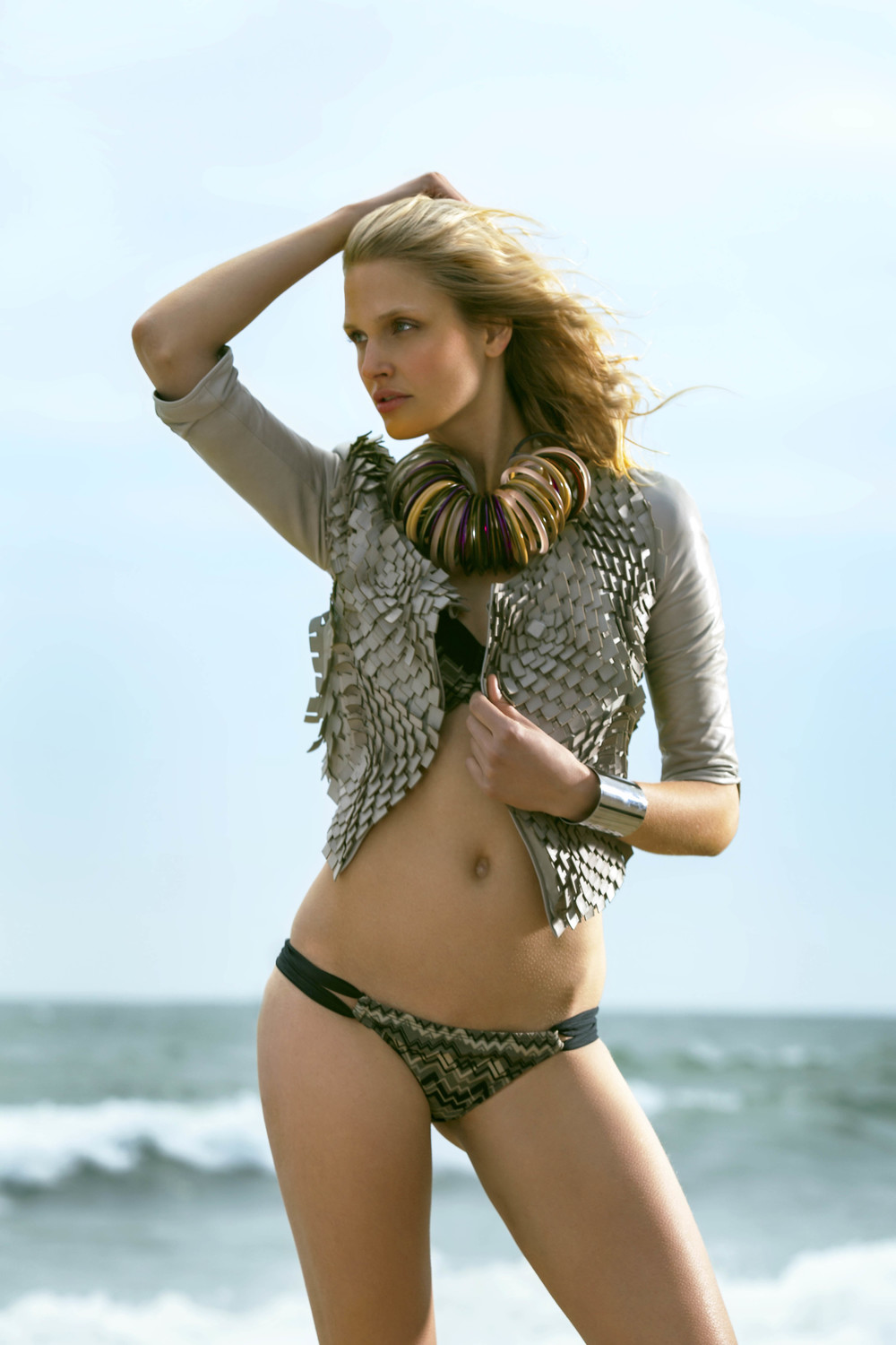 IMG model Tabea Koebach swim editorial by New York Fashion Photographer Joseph Chen NYC