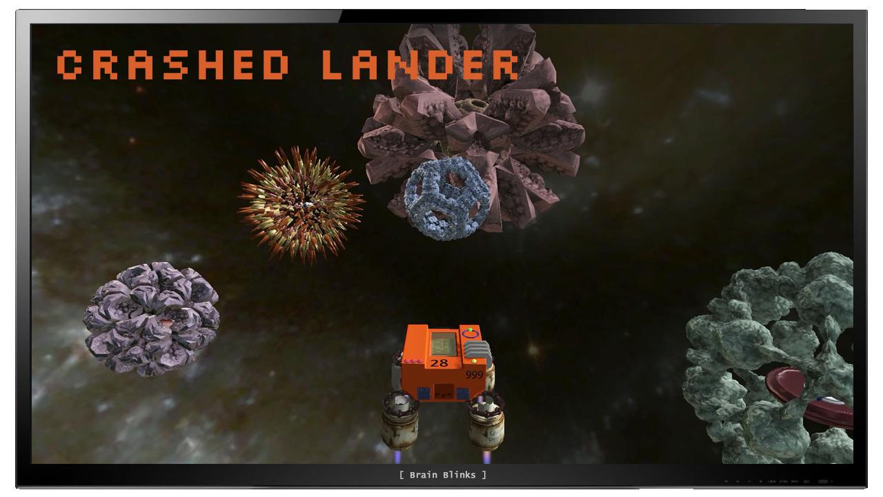 crashed lander — Brain Blinks