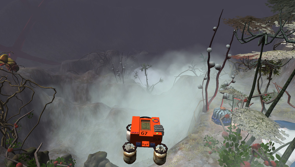 More interesting fog on the Jungle Fog level