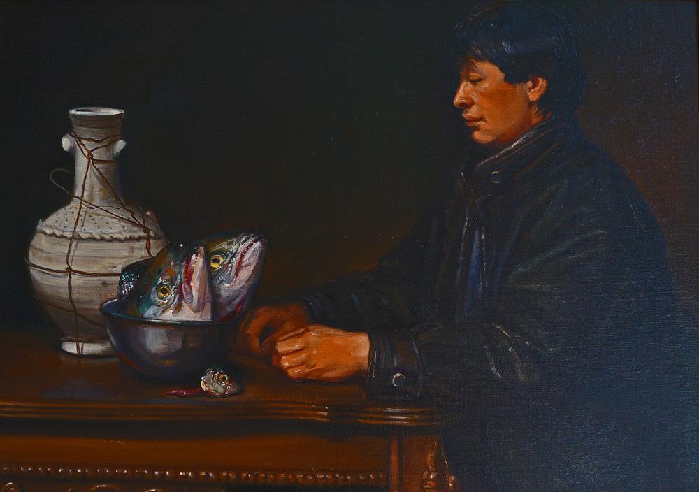 Bodegon:  Manuel and Mortality