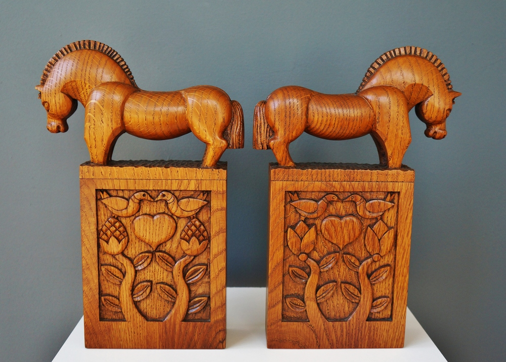 Fjord Horse Bookends