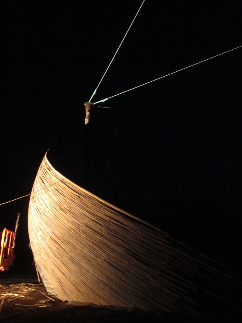 Chinese Junk Shipwreck - Eclipse Festival, Far North Queensland, Australia w/ Symbiosis Events.