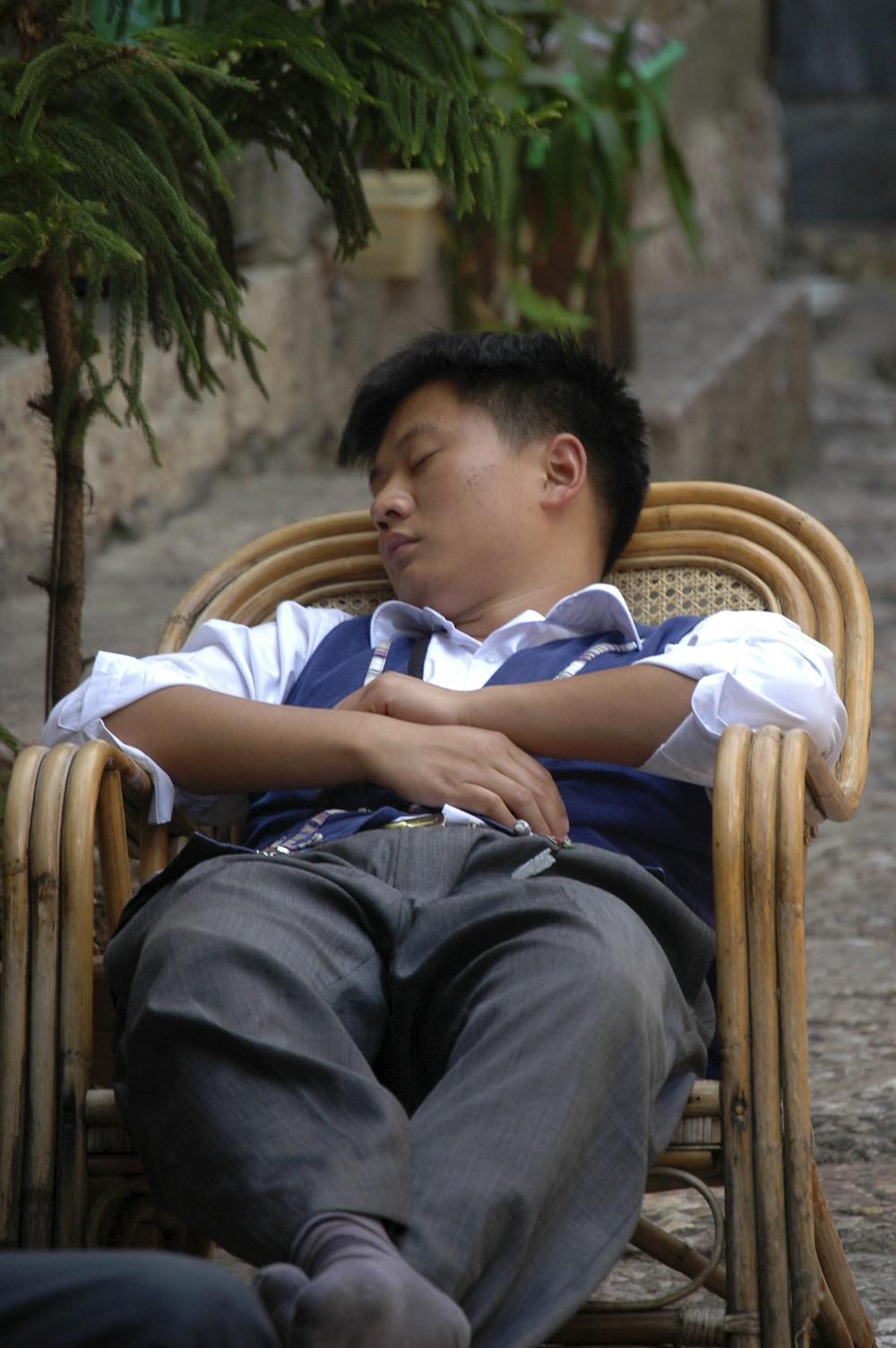 Nap in Yunnan