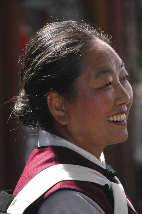 Woman in Lijiang