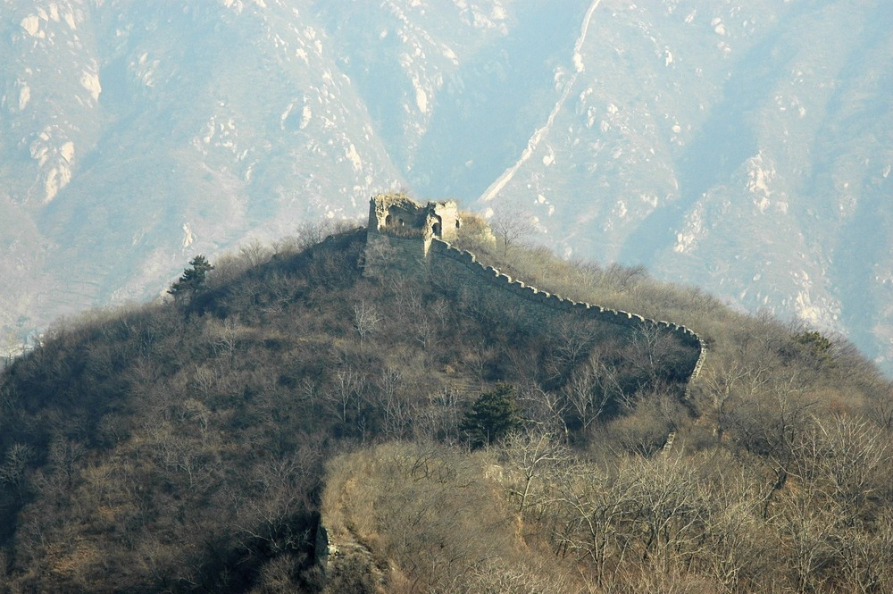 Great wall unrestored near Beijing
