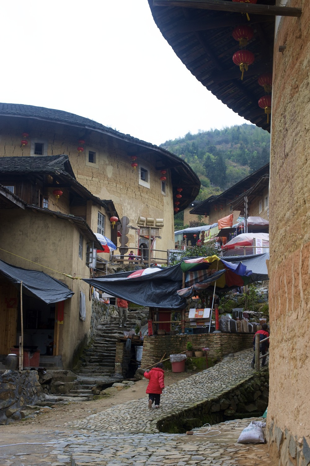 Tulou village view
