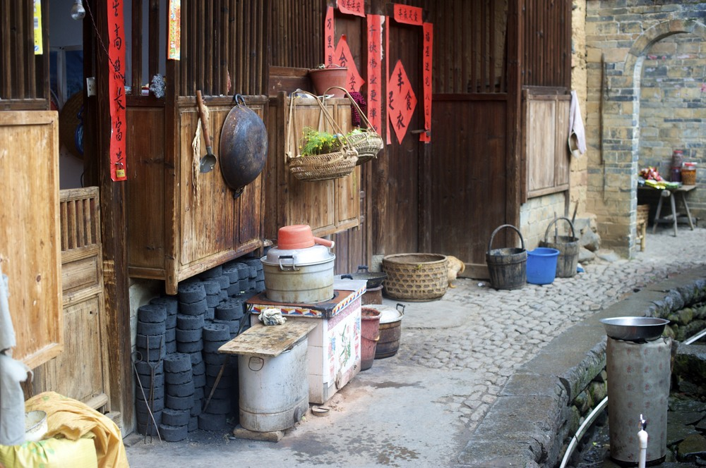 Tulou wok
