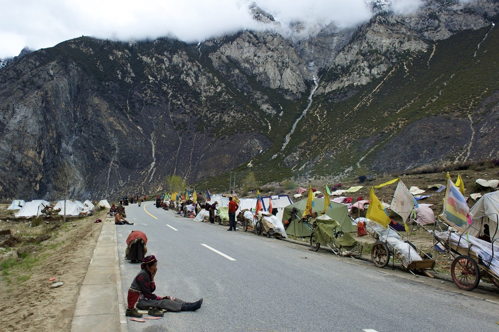 Pilgrim treck to Lhasa