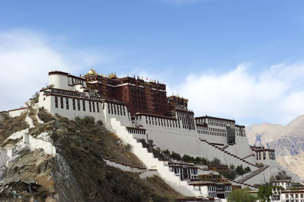 Potala palace - the photo