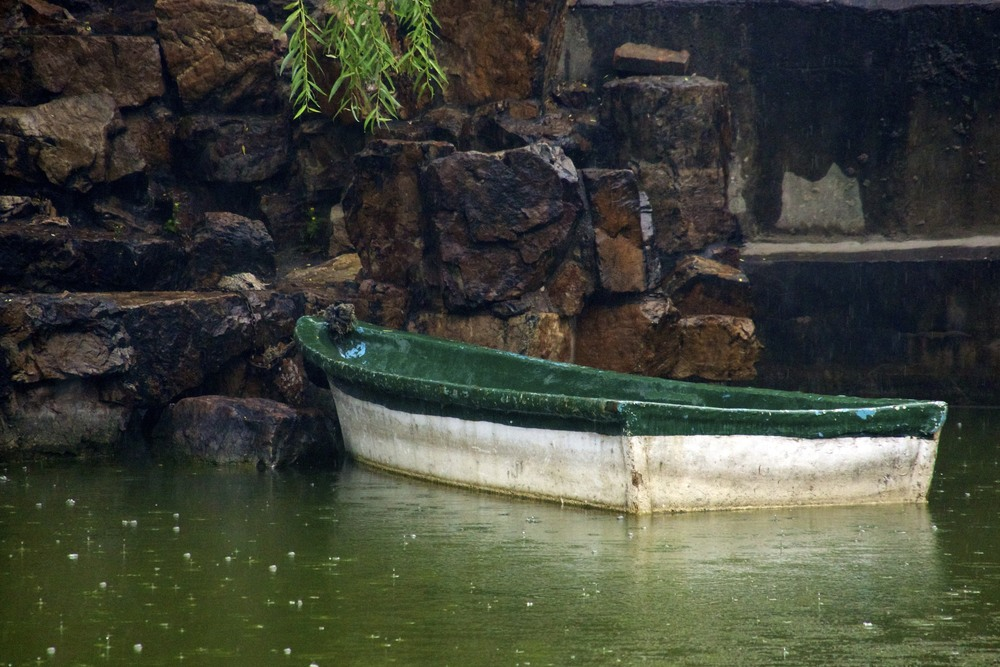 boat in dong hu bie shu