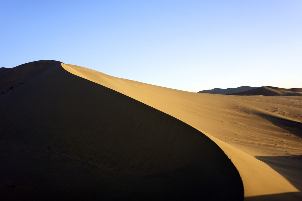 west china desert dune