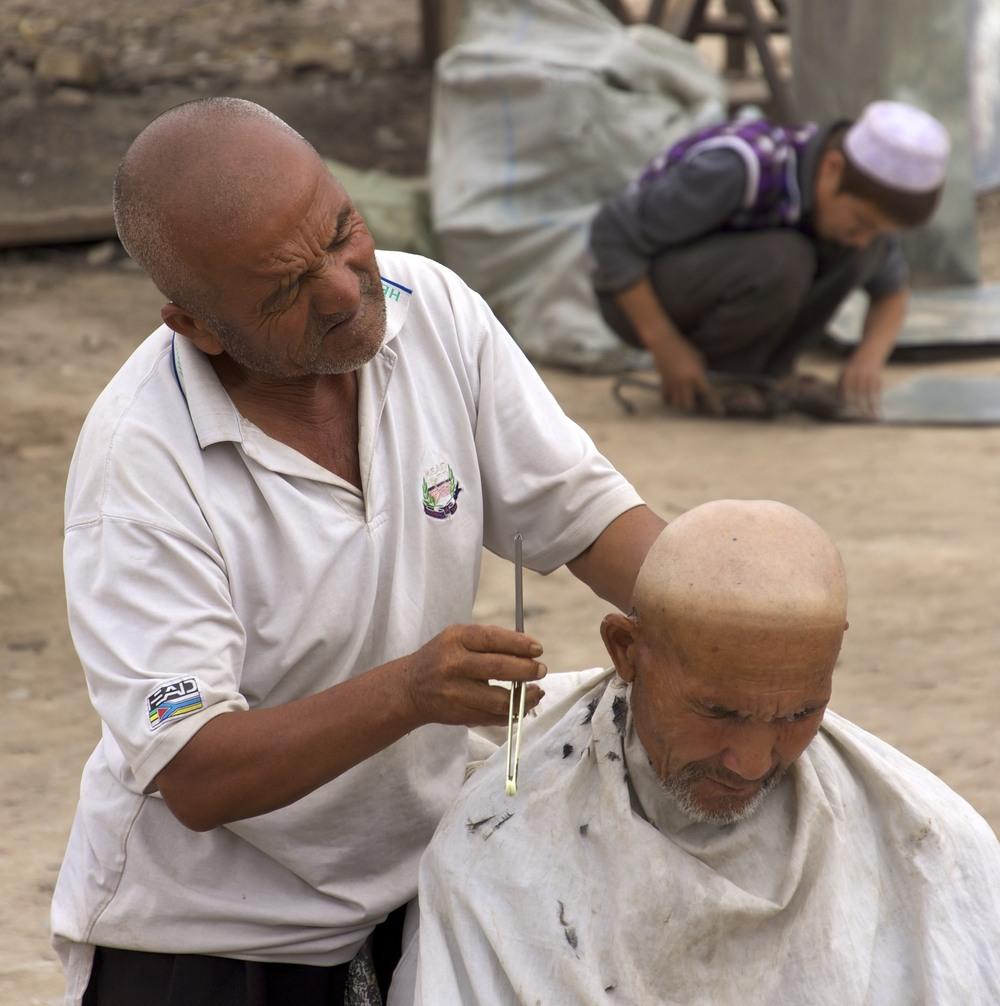 Xinjiang haircut