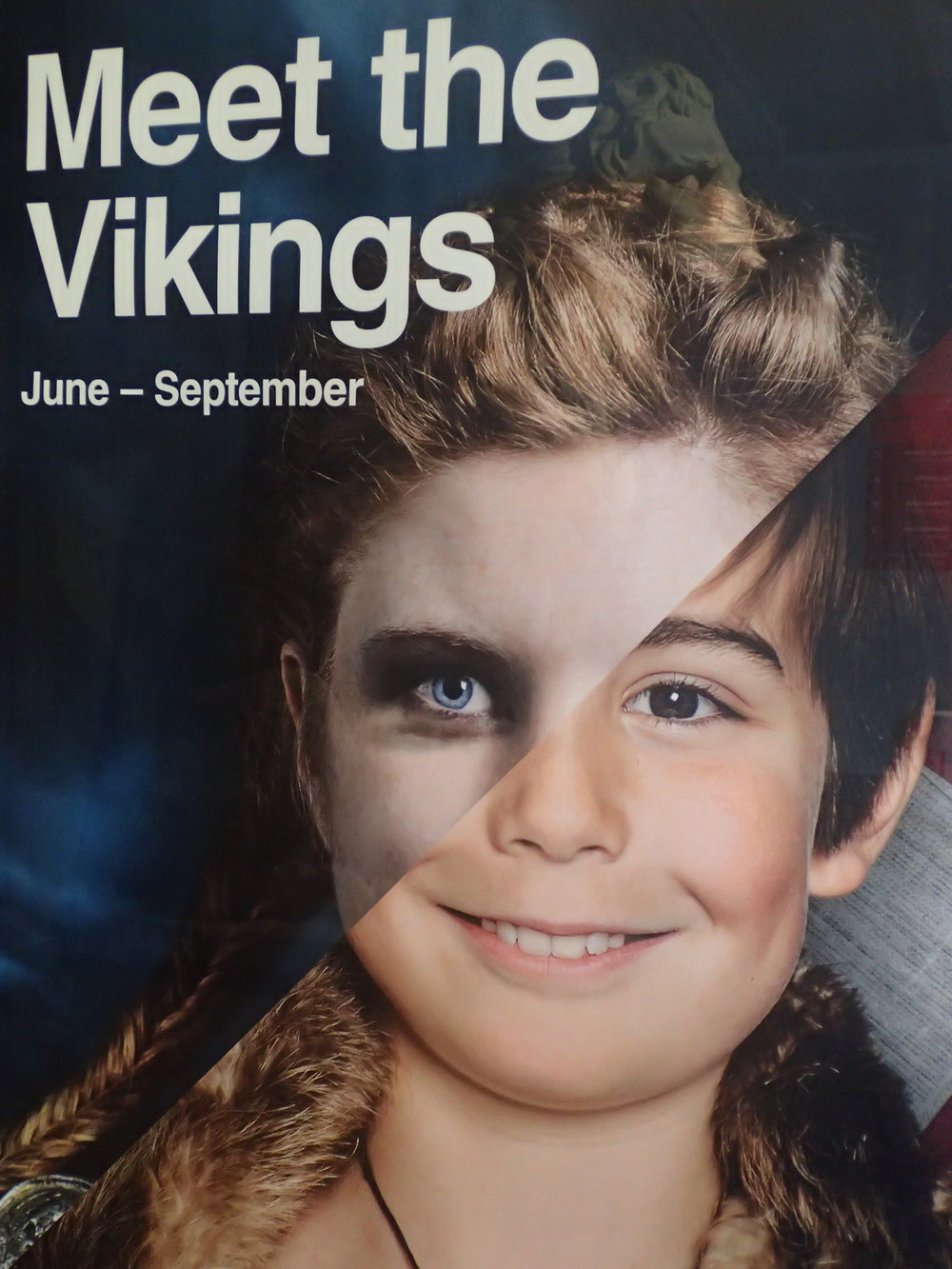 Detail from the 2015 summer season poster of the Viking Museum in Stockholm
