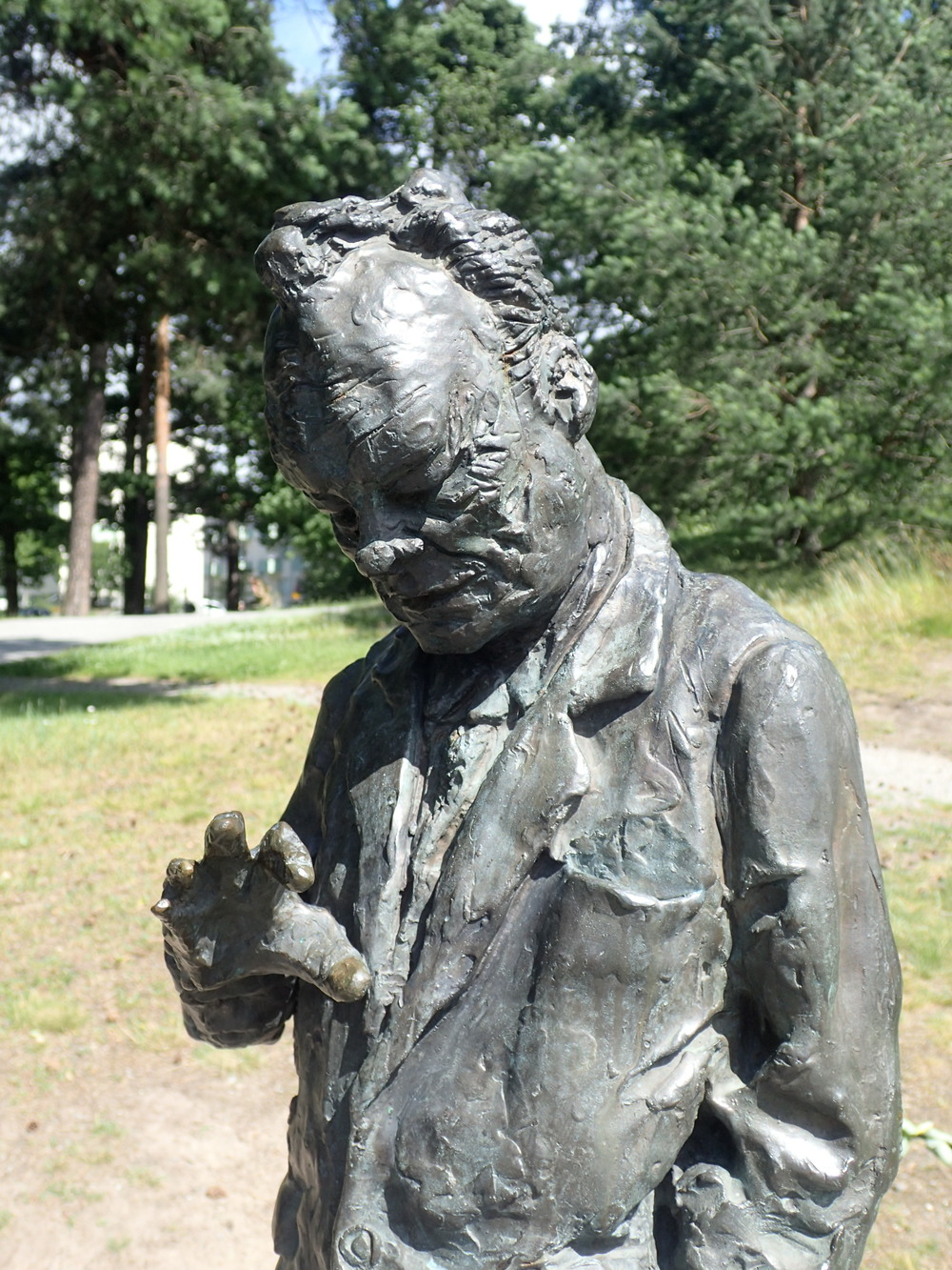Willy Brandt memorial, in a little park named after him.