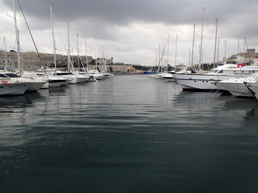 The marina between Valletta, Msida and Sliema.