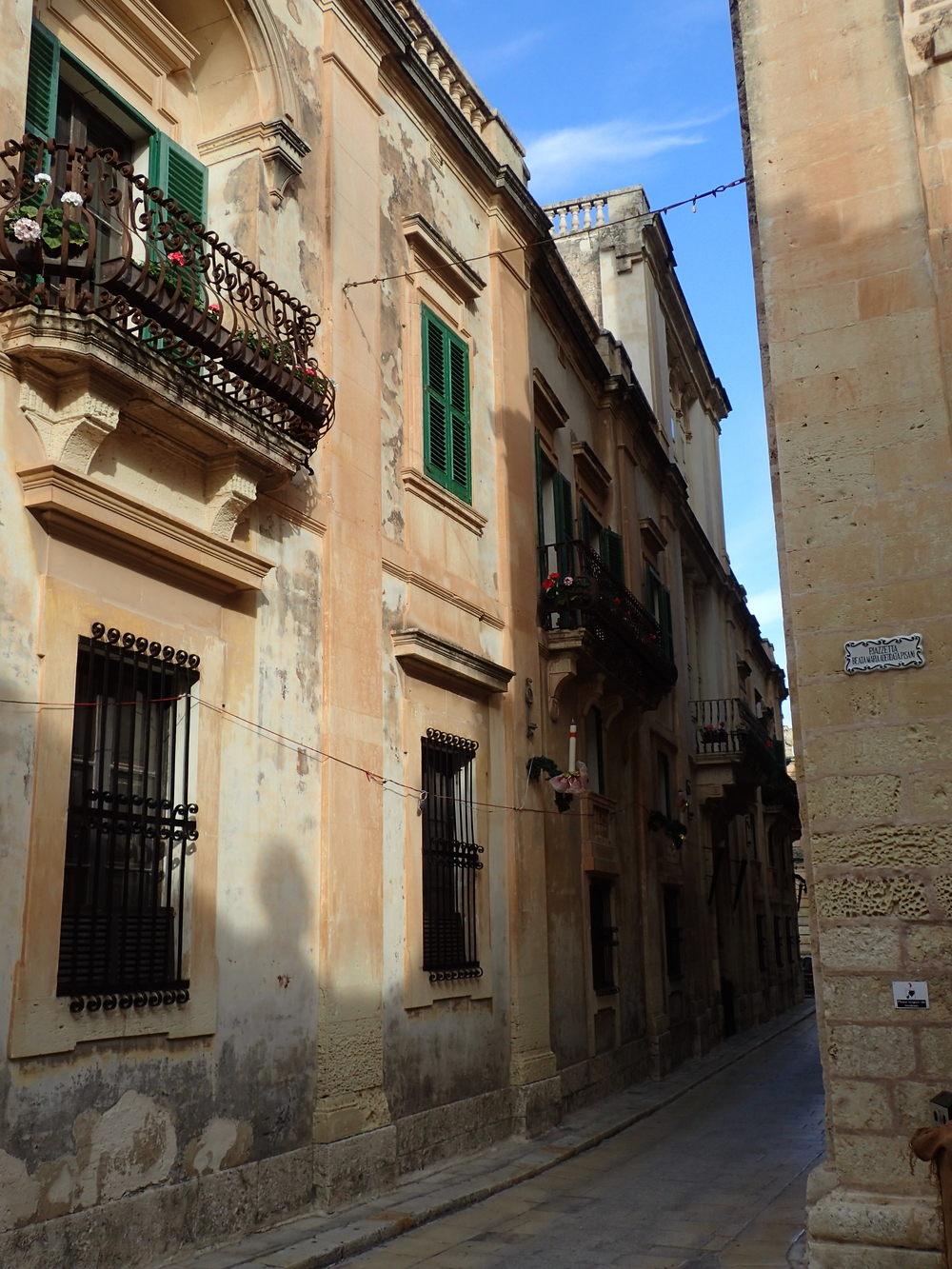 Corner in Mdina on the first of January 2016