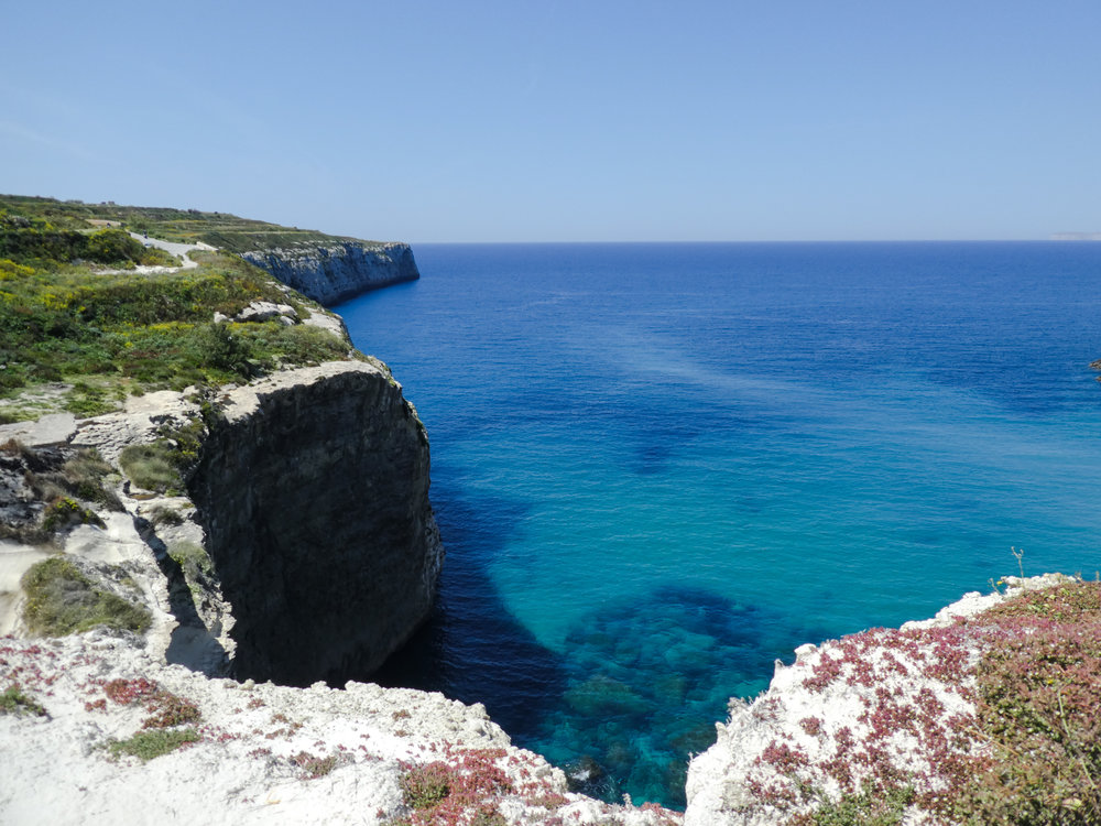 "My favorite hiking landscape on Malta, just beside my favortite bay. As it is largely ""undiscovered"", let me keep it that way and not disclose the exact location."
