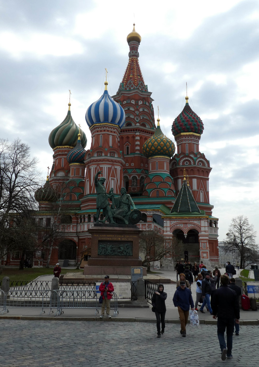 For those who wonder why Ivan the Terrible had this suffix in his name. He blinded the architect of this St. Basil Cathedral to protect the IP how to build it.