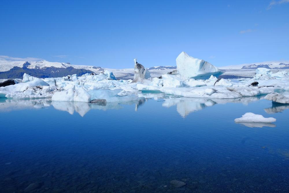 Iceberg Lagoon, Southern Iceland