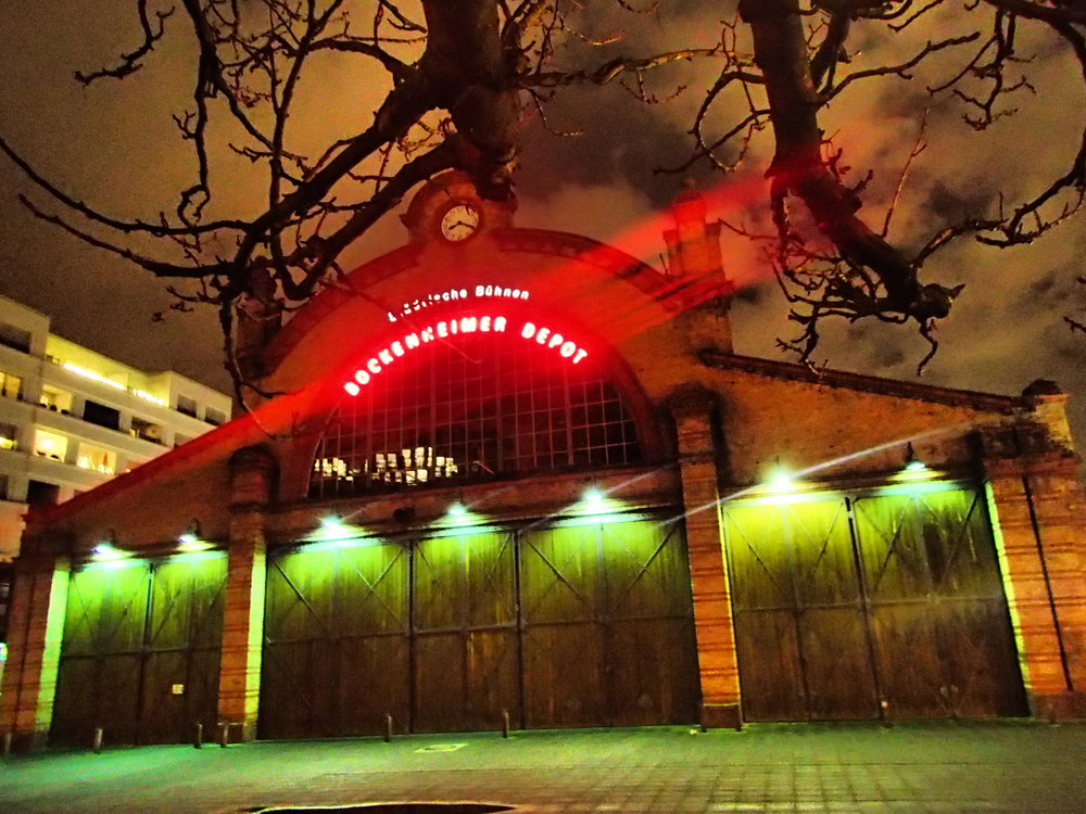 Bockenheimer Depot - Now a Theatre at Bockenheimer Warte, just beside the Goethe University Library.