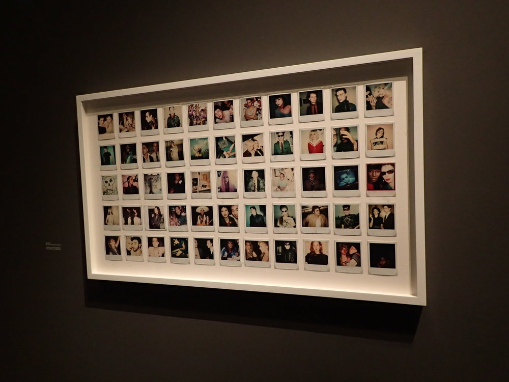 Polaroids, as an offline form of Instagram.