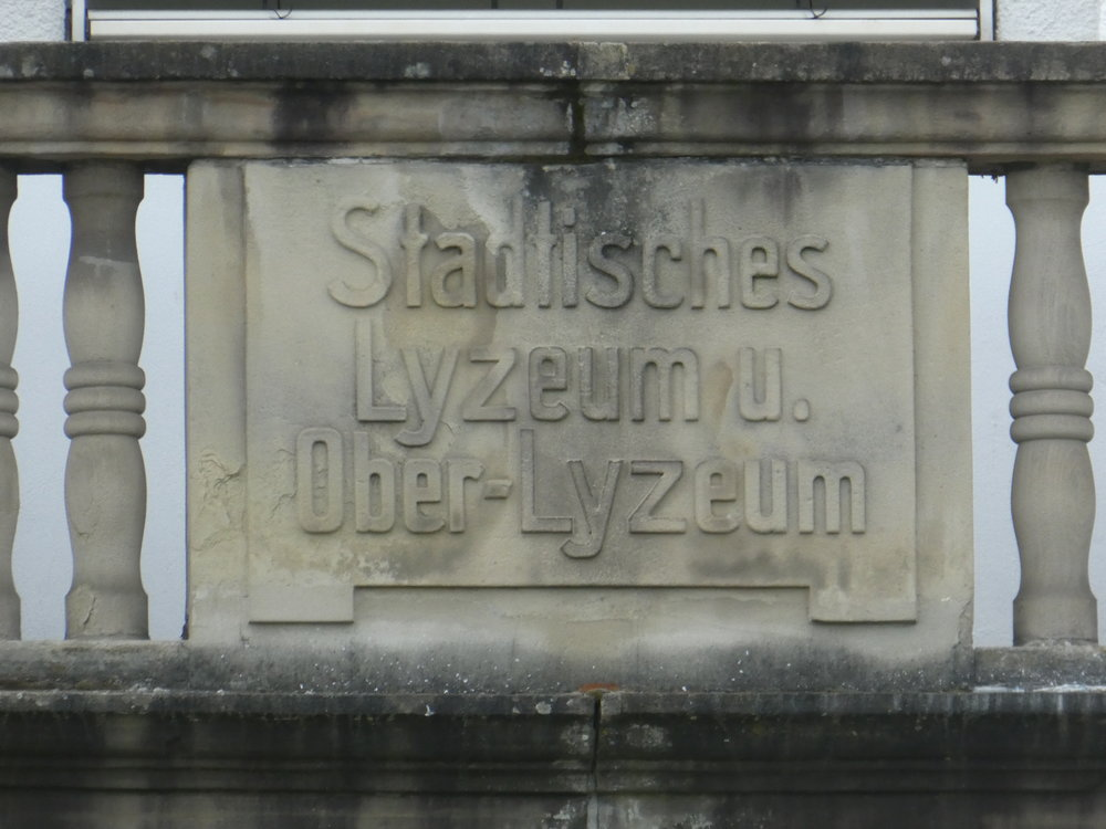 Municipal Lyzeum and upper-Lyzeum, what ever that means. Sounds good.