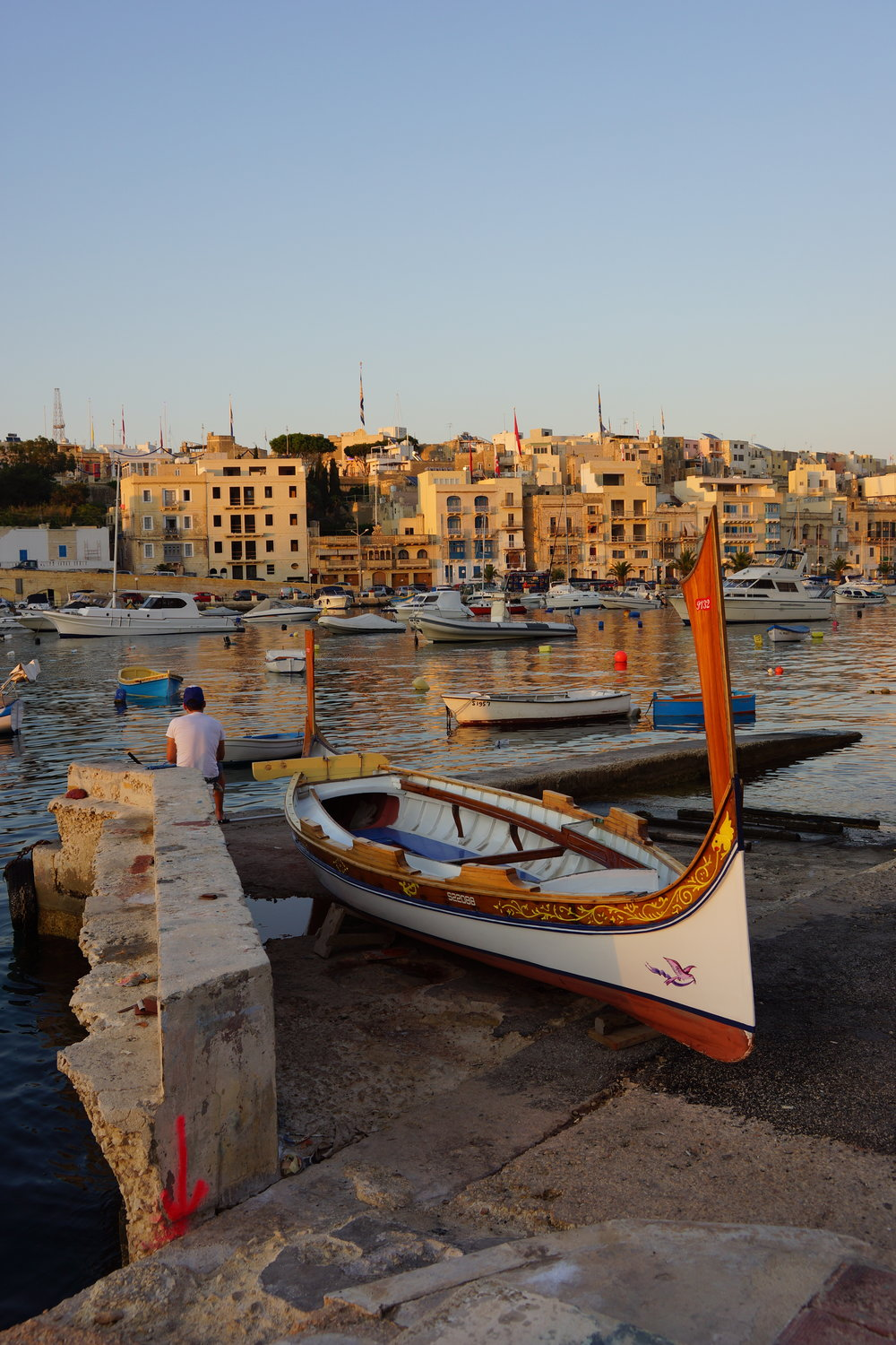 My home, the Kalkara Bay.