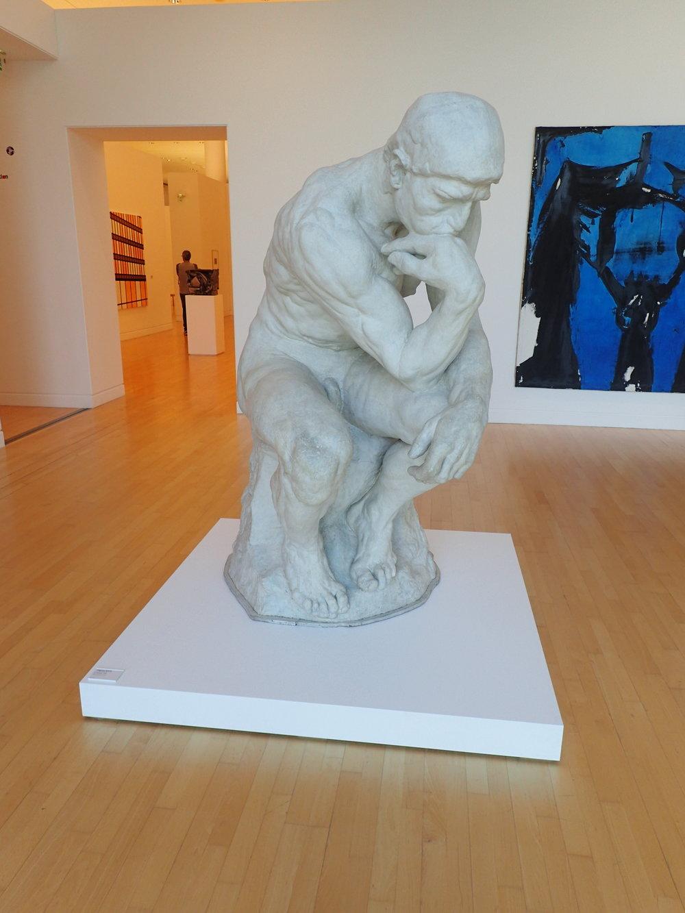 Le Pensaur by Auguste Rodin (1904) in Le Musée d'Art moderne et contemporain de Strasbourg (MAMCS)