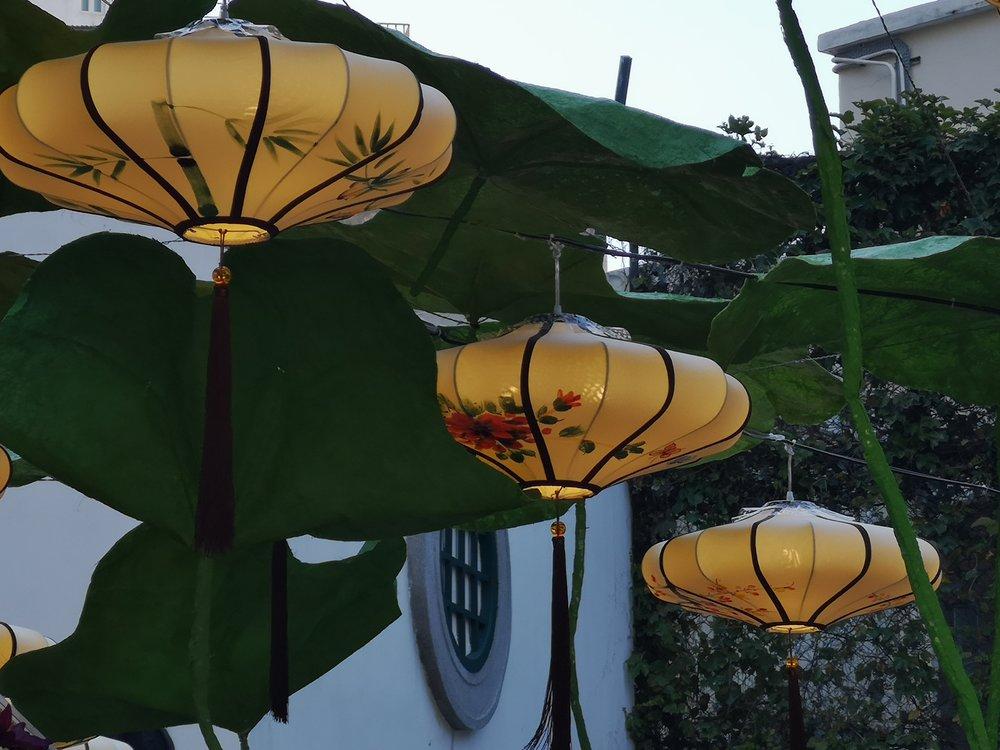 Chinese lanterns in Macau