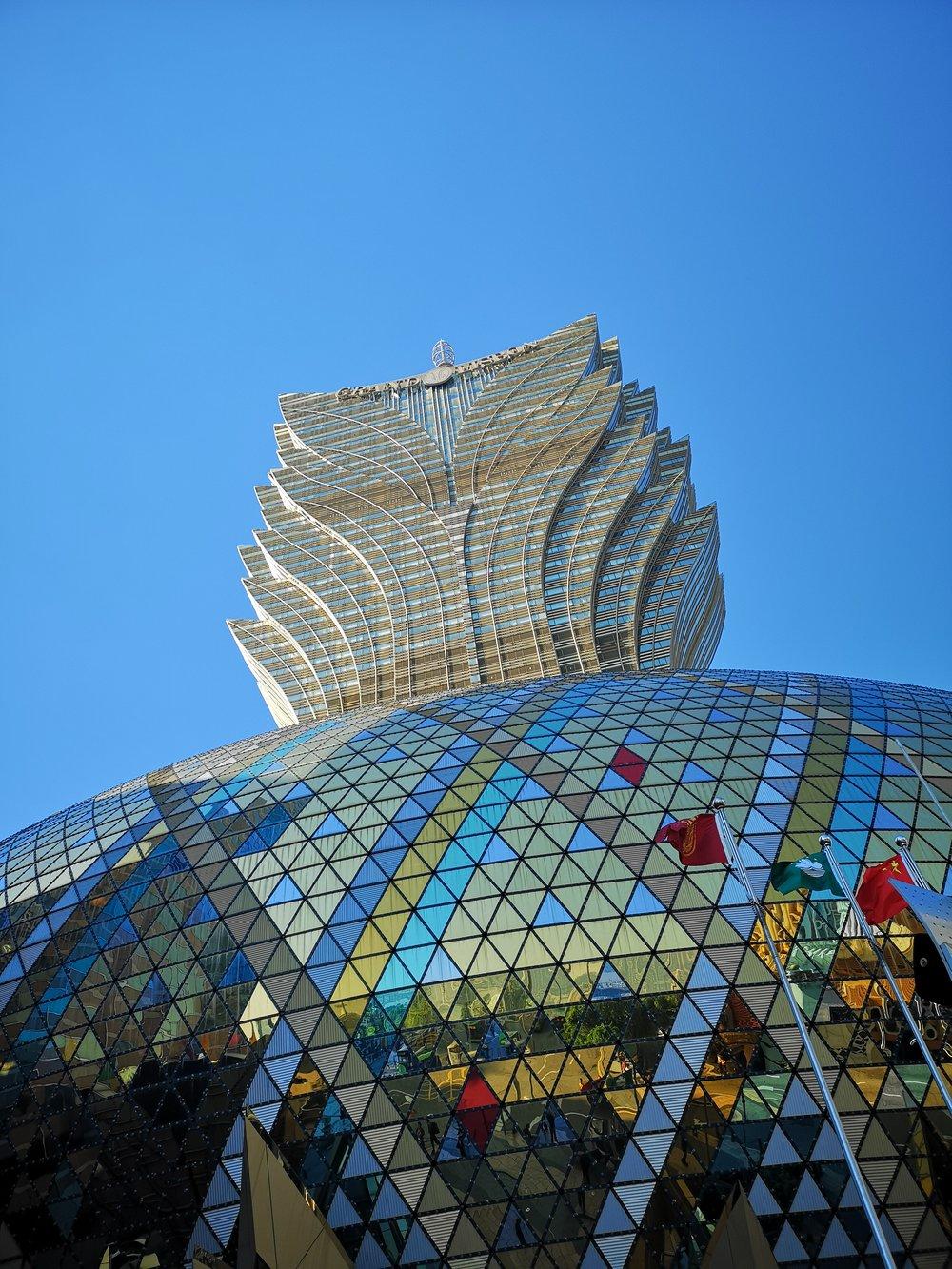 Grand Lisboa Hotel in Macau