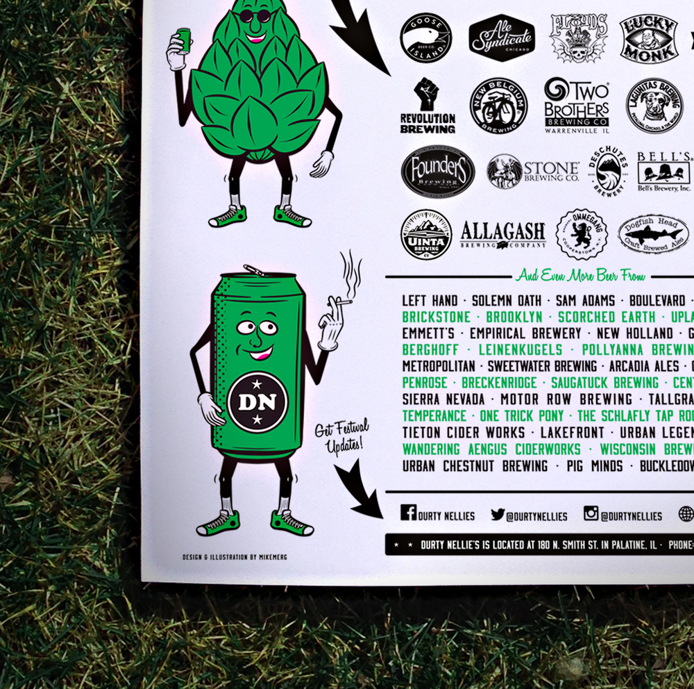 Durty Nellie's 2015 Spring Beer Fest [Image 2/3]  Client: Durty Nellie's