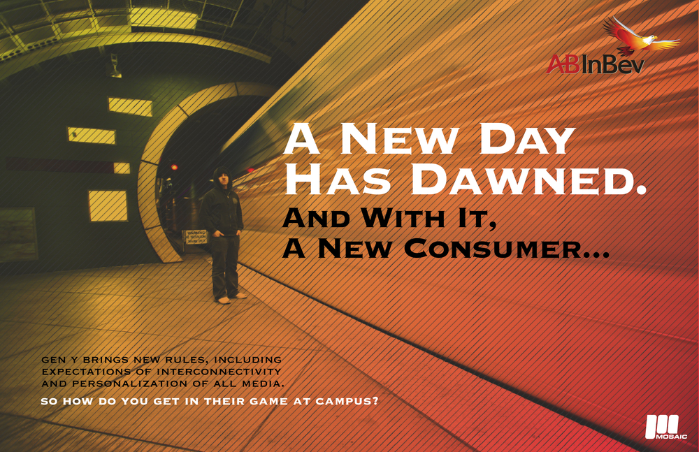 AB - InBev - Marketing Campaign  [Image 2/3]  Client: AB - InBev / Mosaic XM