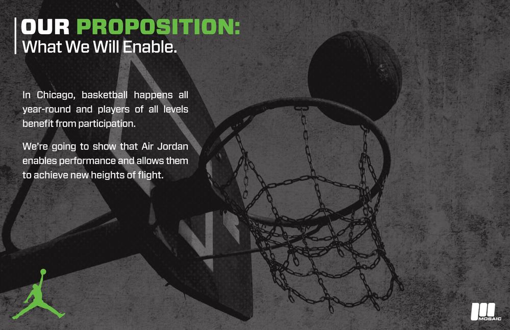 Nike - Jordan Brand - Marketing Campaign  [Image 3/3]  Client: Nike - Jordan Brand / Mosaic XM