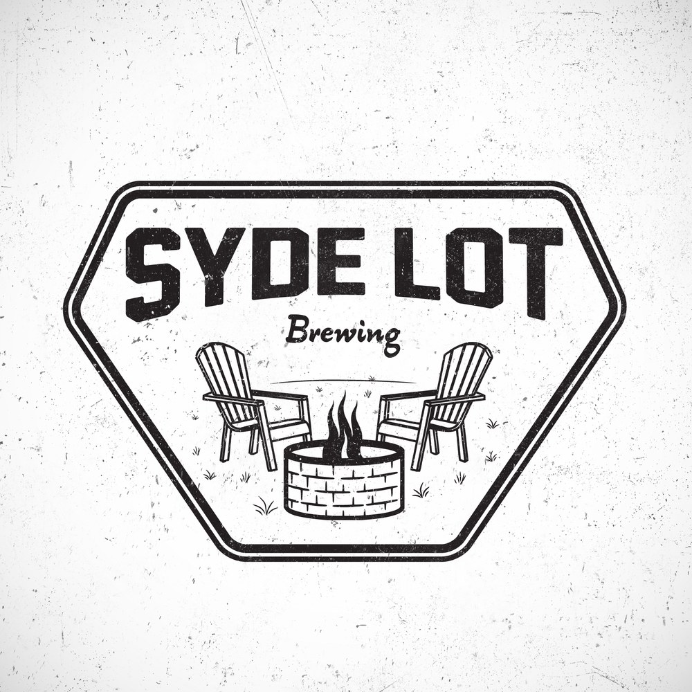 Syde Lot Brewing Logo Concepts  [Image 1/6]  Client: Syde Lot Brewing  Last summer, we worked with Syde Lot brewing in Wauconda, IL [Since changed to Side Lot] to develop some ideas for their new logo. Although the brand's partners ultimately went in a different direction, we were stoked to work together with their brewers to produce a number of different concepts for the proposal.