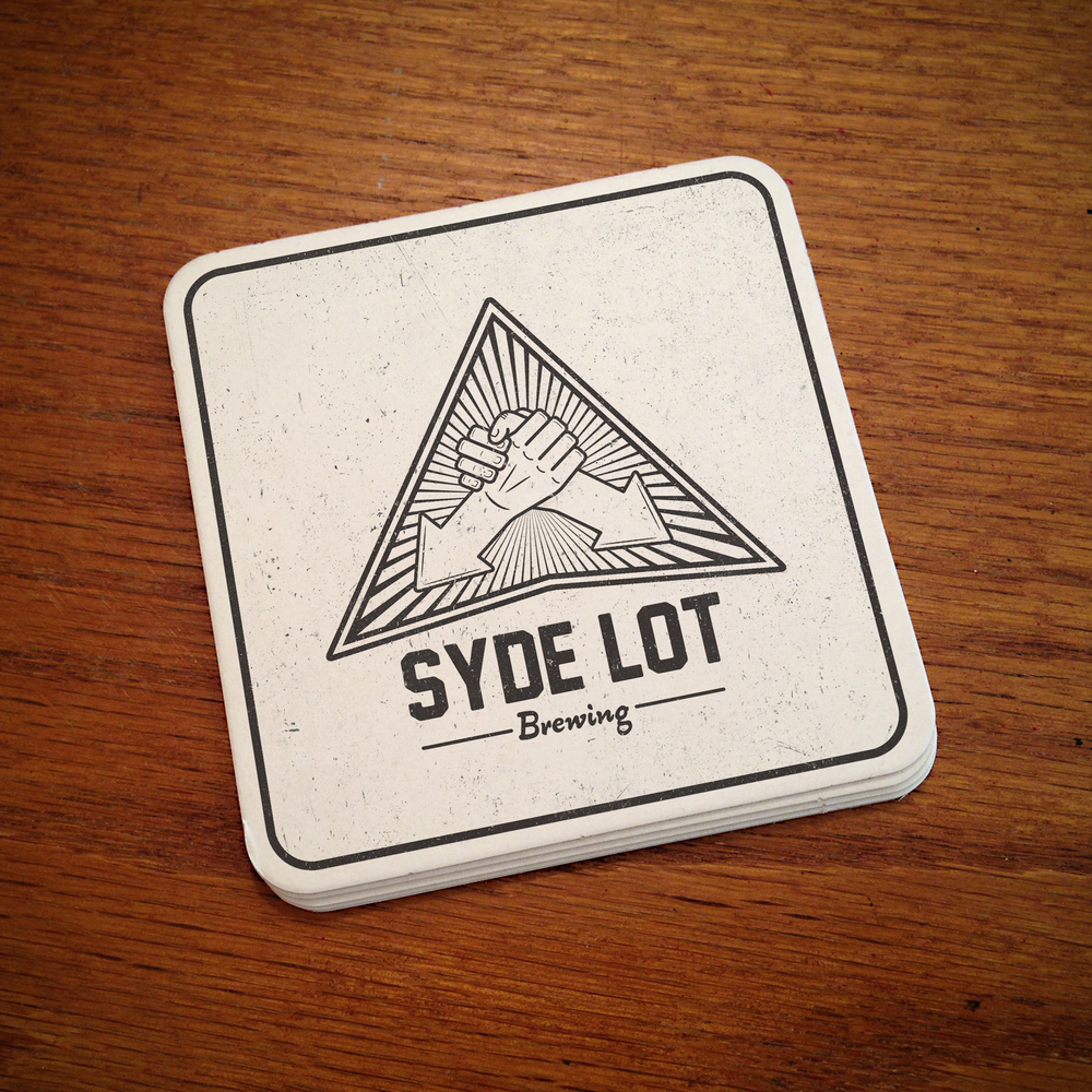 Syde Lot Brewing Logo Concepts  [Image 6/6]  Client: Syde Lot Brewing