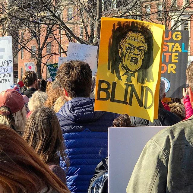 Mad skills. #killfascists #defeattrump #dumptrump #womensmarch #hope #blessed #yae #america #womensmarchboston #protest #notmypresident