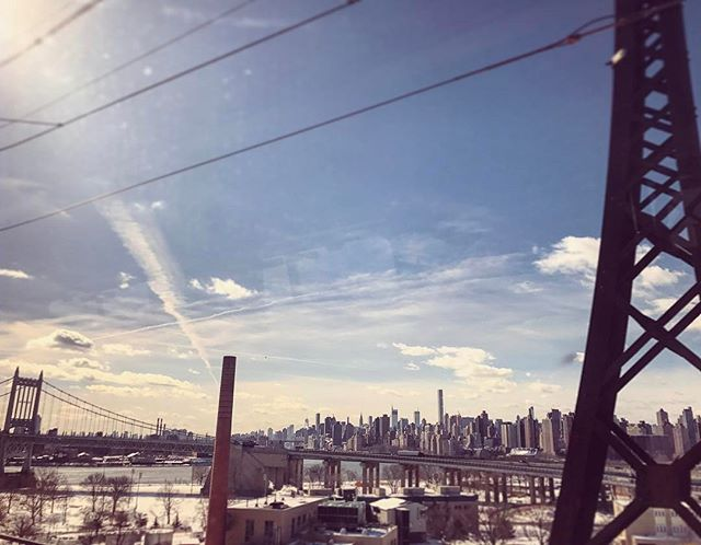See ya later ya big honkin' city. #yae #nyc #whaddup #bigapple #work #advertising #amtrak #jaunt #jawn #newyork #vsco #vscocam #rails #blessed