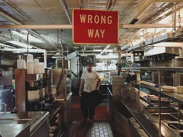 Nobody ever told him it's the: #wrongway #boston #primerib #durginpark #happybirthday #dan #yae #blessed #pappas #djau #beef #chef