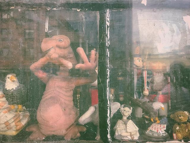 Nostalgic? Phone home. _____________ _____________ _____________ #ET #aliens #aliensexist #phonehome #spielberg #nyc #igersnyc #look #lookatmydab #blessed #yae