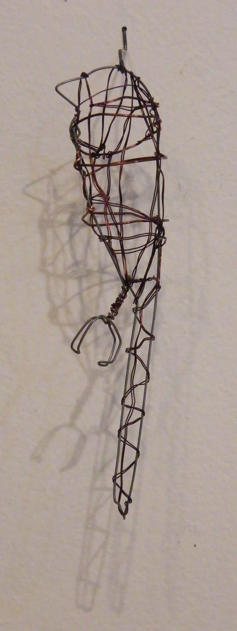 detail, wire woven bird