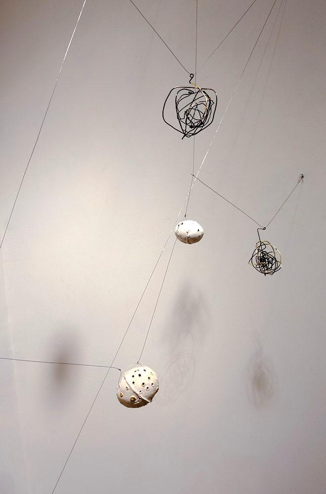 Constellation, detail, by Valerie Mann & Monica Wilson