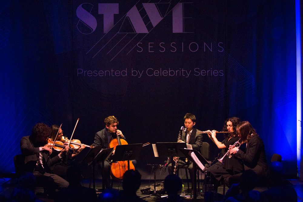 yMusic at 160 Mass Ave., opening the Celebrity Series' Stave Sessions. Robert Torres photograph