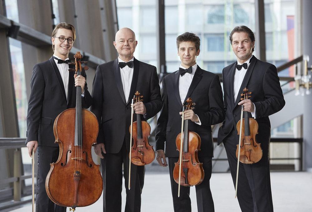 Gewandhaus-Quartett. Jens Gerber photograph