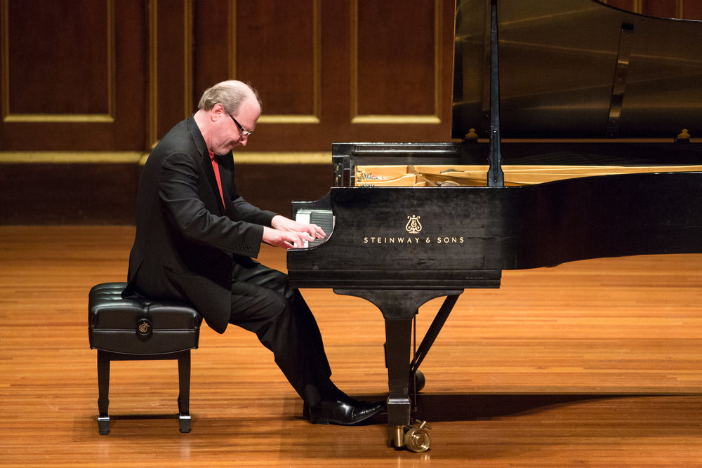 Marc-André Hamelin at Jordan Hall. Robert Torres photograph