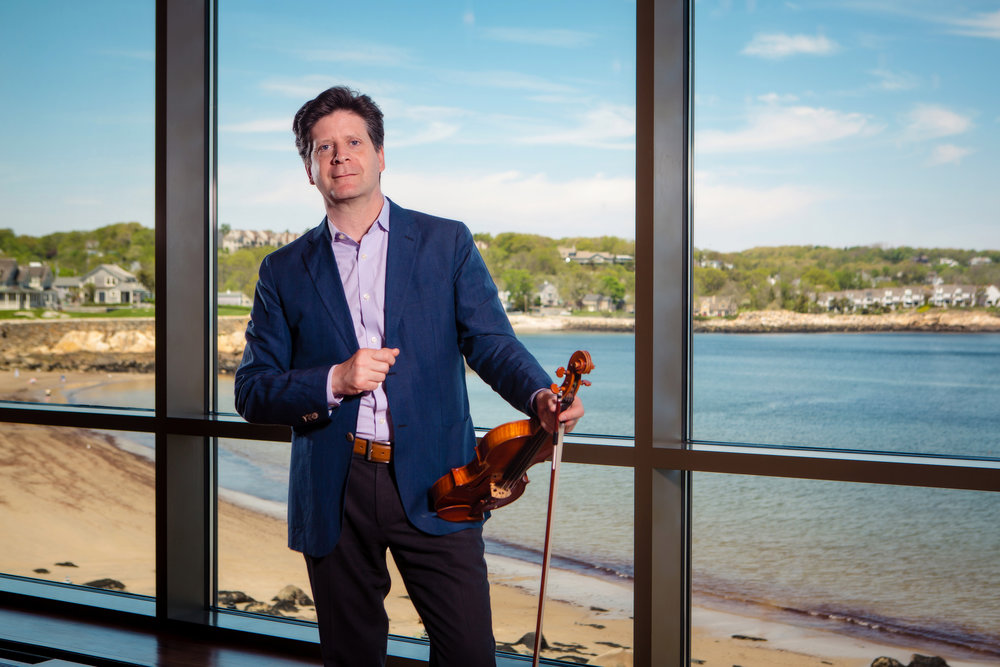 Rockport Chamber Music Festival artistic director Barry Shiffman makes impressive changes to this summer's programming.