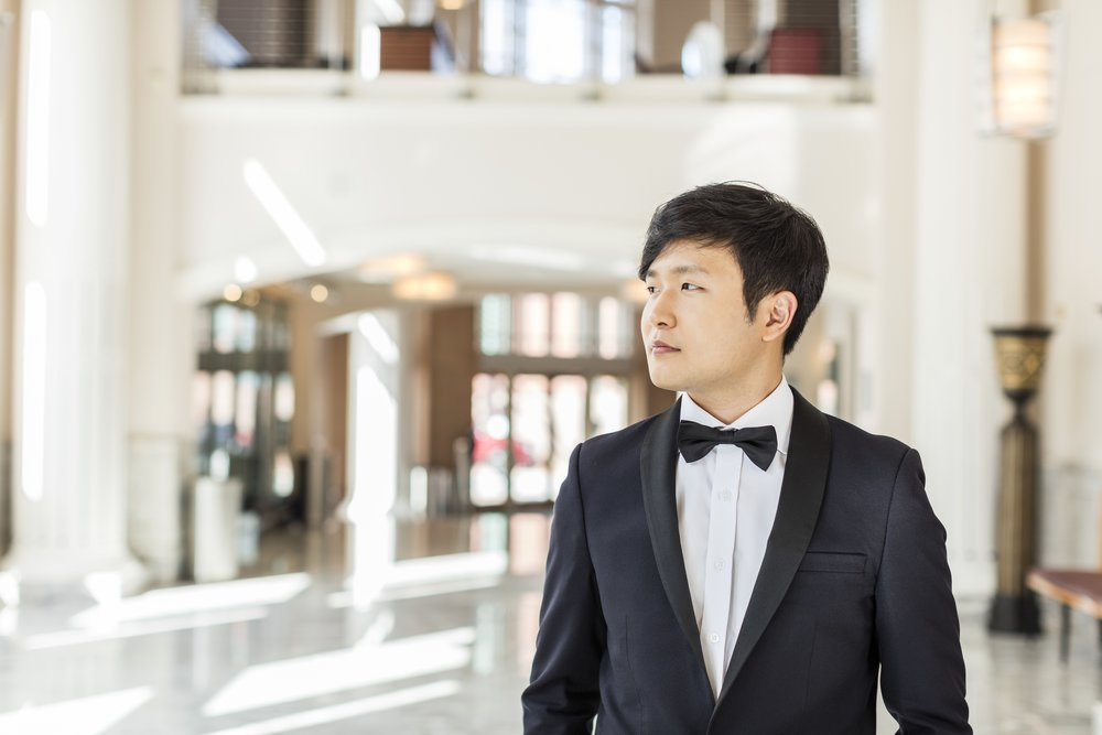 Reigning Van Cliburn competition winner Yekwon Sunwoo performs Friday evening at the Rockport Chamber Music Festival, with the Brentano Quartet.