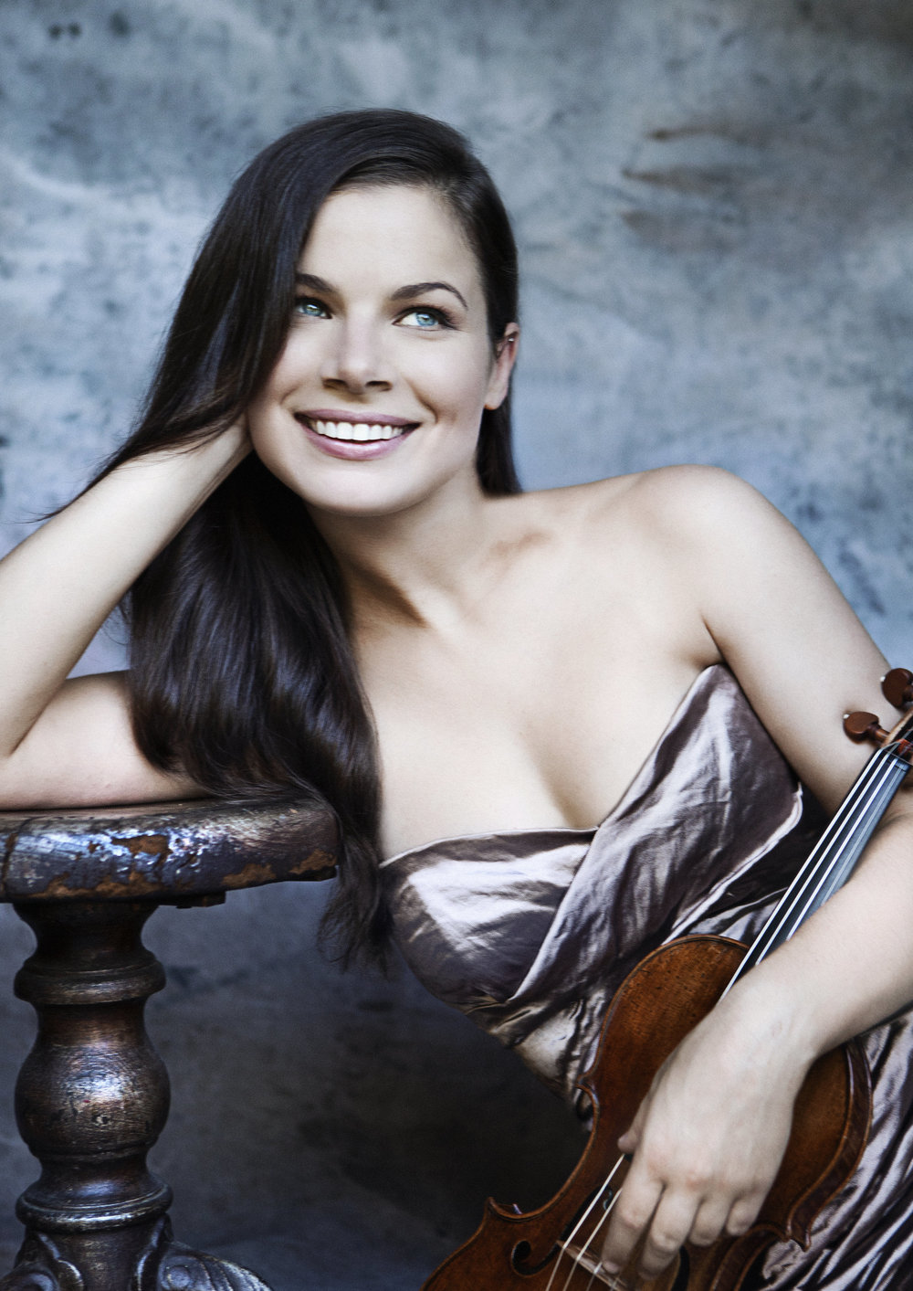 Violinist Bella Hristova, part of Curtis on Tour this summer. Lisa Marie Mazzucco photograph